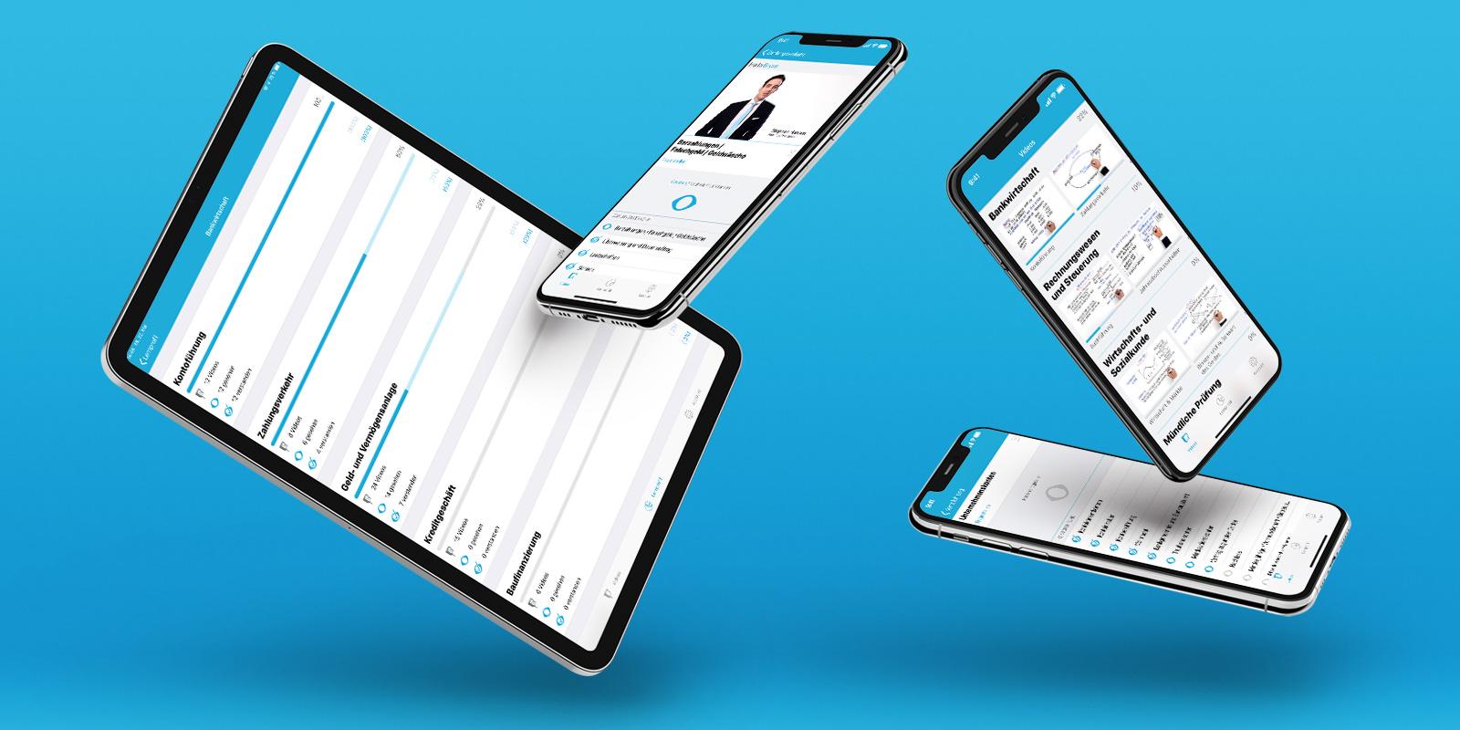 Prüfungs.TV, Android- & iOS-App